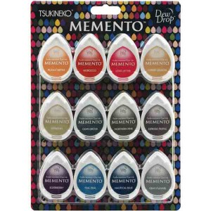 Memento Snow Cones Dew Drops Ink Pad Set