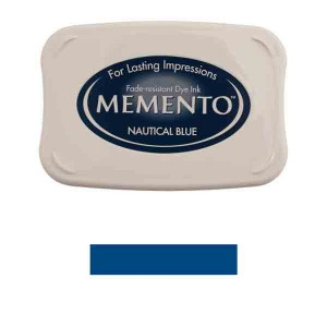 Memento Nautical Blue Dye Ink Pad class=