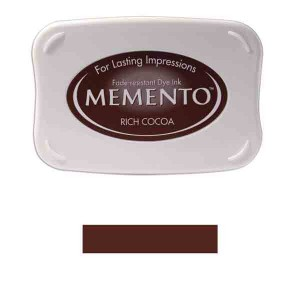 Memento Rich Cocoa Dye Ink Pad
