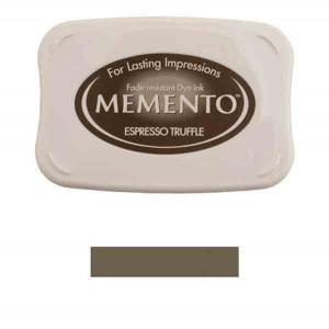 Memento Espresso Truffle Dye Ink Pad