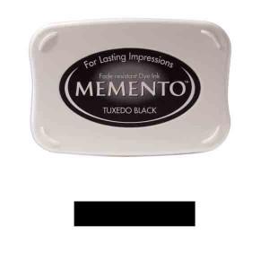 Memento Tuxedo Black Dye Ink Pad