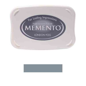 Memento London Fog Dye Ink Pad class=