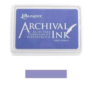 Ranger Deep Purple Archival Ink Pad class=