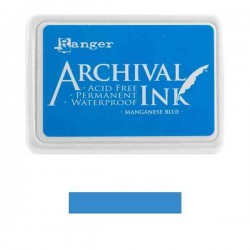 Ranger Manganese Blue Archival Ink Pad