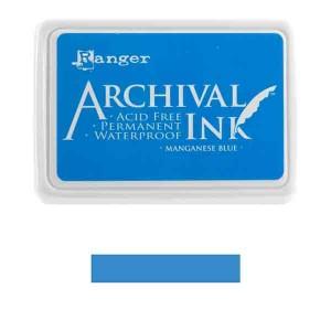 Ranger Manganese Blue Archival Ink Pad