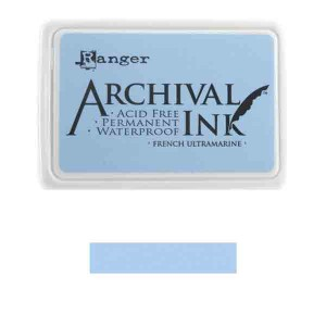 Ranger French Ultramarine Archival Ink Pad class=