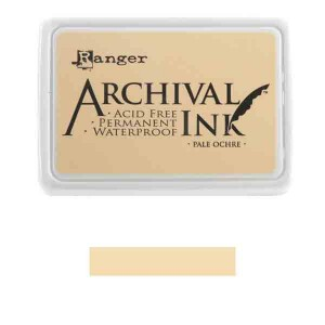 Ranger Pale Ochre Archival Ink Pad