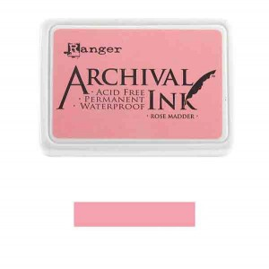 Ranger Rose Madder Archival Ink Pad class=