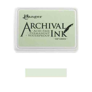 Ranger Sap Green Archival Ink Pad class=