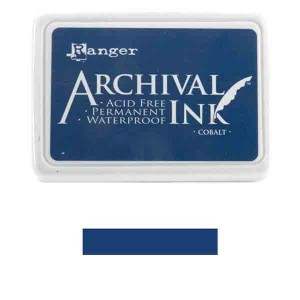 Cobalt Archival Ink Pad