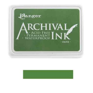 Ranger Olive Archival Ink Pad class=
