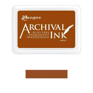 Ranger Sepia Archival Ink Pad