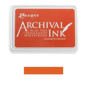Ranger Monarch Orange Archival Ink Pad class=