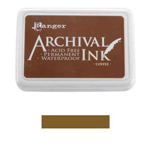 Ranger Coffee Archival Ink Pad class=