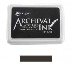 Jet Black Archival Ink Pad