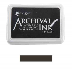 Ranger Jet Black Archival Ink Pad