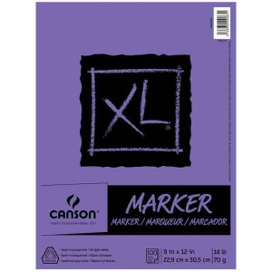 "Canson Marker Paper Pad - 9"" x 12"""