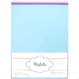 Pastel Card Stock Paper Pack - 12 sheets class=