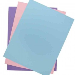 Pastel Card Stock Paper Pack - 12 sheets
