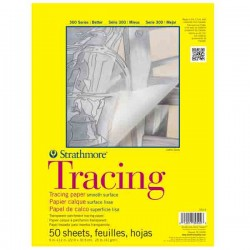 "Strathmore Tracing Paper Pad - 9"" x 12"""