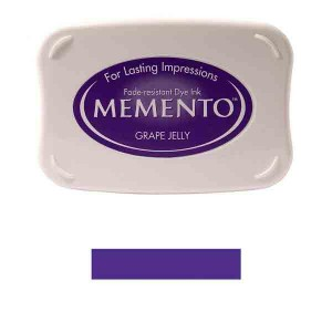 Memento Grape Jelly Dye Ink Pad class=
