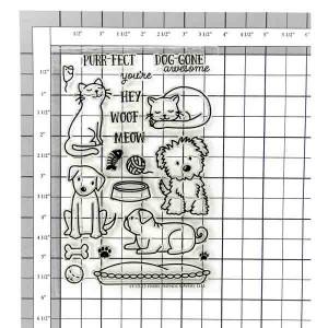 Avery Elle Furry Friends Stamp Set class=