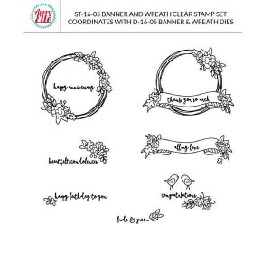 Avery Elle Banner & Wreath Elle-ments Die Set class=