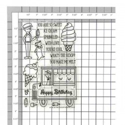 Avery Elle The Scoop Stamp Set