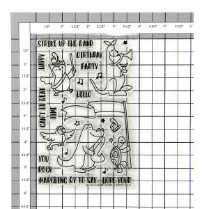 Avery Elle Band Camp Stamp Set class=