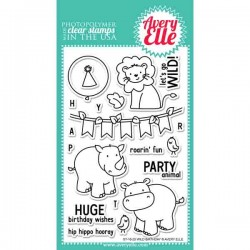 Avery Elle Wild Birthday Stamp Set