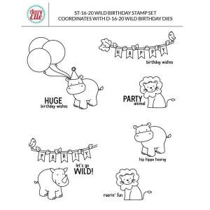 Avery Elle Wild Birthday Stamp Set class=