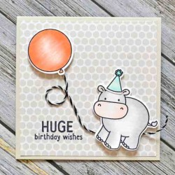 Avery Elle Wild Birthday Stamp Set