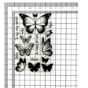 Avery Elle Butterflies Stamp Set class=