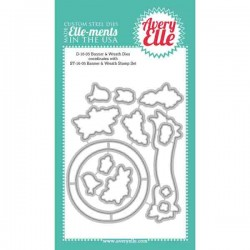 Avery Elle Banner & Wreath Elle-ments Die Set