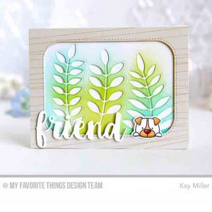 My Favorite Things Wire Background Stamp class=