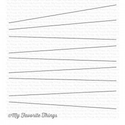 My Favorite Things Wire Background Stamp