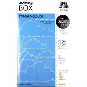 Memory Box Stitched Cloud Craft Dies class=