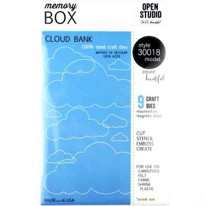 Memory Box Cloud Bank Craft Dies class=