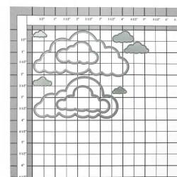 Memory Box Cloud Bank Craft Dies