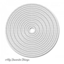 My Favorite Things Die-namics Inside & Out Stitched Circle STAX