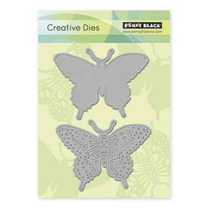 Penny Black Delicate Wings Creative Die Set class=