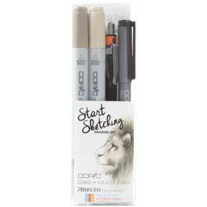 Copic Marker Start Sketching - Drawing Set
