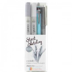 Copic Marker Start Sketching - Cool Gray Collection