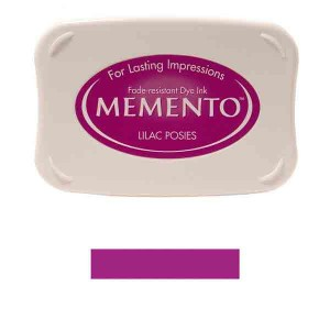 Memento Lilac Posies Dye Ink Pad