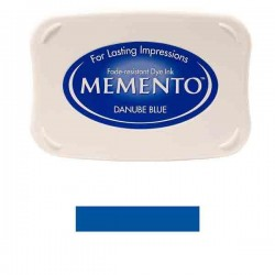 Memento Danube Blue Dye Ink Pad