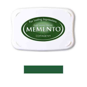 Memento Cottage Ivy Dye Ink Pad