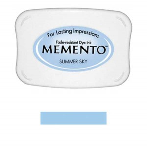 Memento Summer Sky Dye Ink Pad