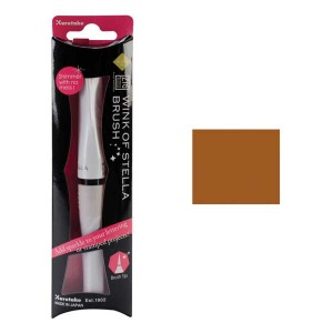 ZIG Wink of Stella Glitter Brush Marker - Brown