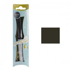 ZIG Wink of Luna Metallic Brush Pen - Black