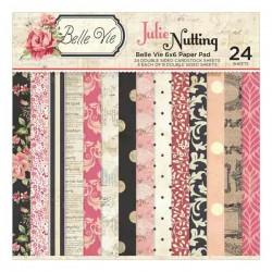 """Belle Vie - Julie Nutting Paper Pad - 6"""" x 6"""""""